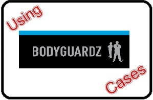Using BodyGuardz Cases