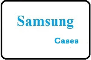 Using Samsung Cases