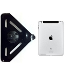 SLIPGRIP RAM MOUNT COMPATIBLE FOR APPLE IPAD 2 & 3 & 4 GEN Using Naked No Case On