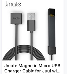 Jmate USB Magnetic Charge cable FAST CHARGE Charging For JUUL Anywhere