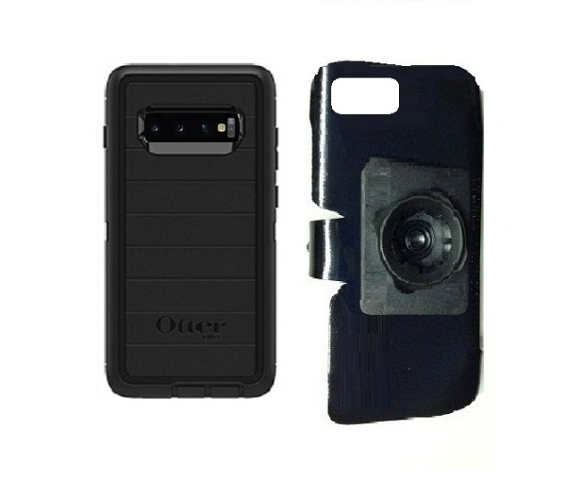 buy online be373 95e93 SlipGrip 22mm Ball Holder For Samsung Galaxy S10 Plus Using Otterbox  Defender Pro Case