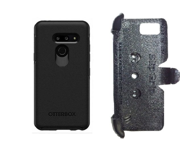 SlipGrip PRO Mounts Holder For LG G8 ThinQ Using Otterbox Symmetry Case