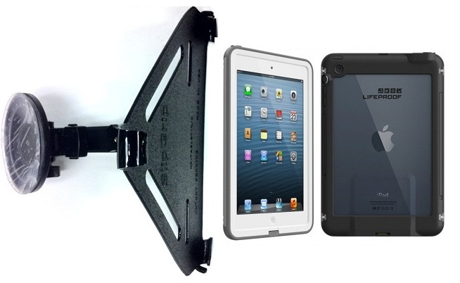 sale retailer 3a85e 18c55 SlipGrip CAR Holder For Apple iPad Mini Tablet Using Lifeproof Cases Using  Lifeproof Case