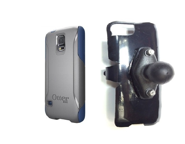 SlipGrip RAM Holder For Samsung Galaxy S5 i9600 Using Otterbox Commuter Case