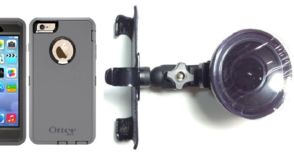 premium selection 71ac1 2c0df SlipGrip Car Holder For Apple iPhone 6S Plus Using Otterbox Defender Case HV