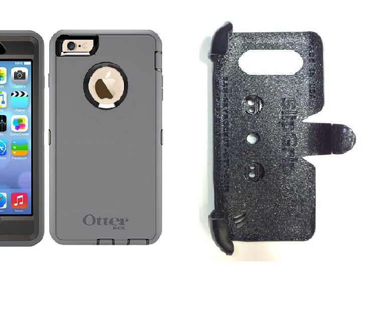 SlipGrip PRO Mounts Holder For Apple iPhone 6S Plus Using Otterbox Defender Case
