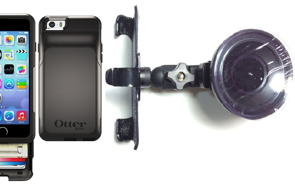 best service 0a86f c3bd0 SlipGrip Car Holder For Apple iPhone 6 Using Otterbox Commuter Wallet Case  HV