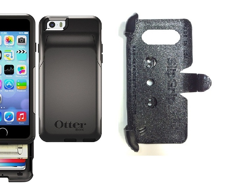 new arrivals ac29a c65c5 SlipGrip PRO Mounts Holder For Apple iPhone 6 Using Otterbox Commuter  Wallet Case