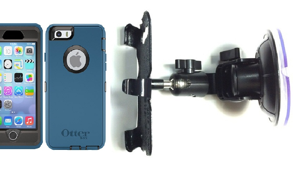 SlipGrip Car Holder For Apple iPhone 6S Using Otterbox Defender Case DT