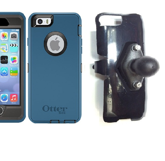 SlipGrip RAM Holder For Apple iPhone 6S Using Otterbox Defender Case