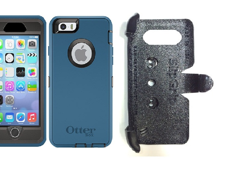 SlipGrip PRO Mounts Holder For Apple iPhone 6S Using Otterbox Defender Case