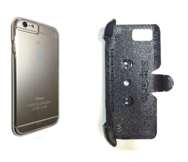 new concept 3f01e 3ee74 SlipGrip PRO Mounts Holder For Apple iPhone 8 Using Case-Mate BARELY THERE  Case