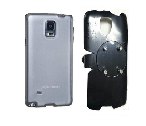 SlipGrip RAM-HOL Holder For Samsung Galaxy Note 4 Using Ventev durashell  Case