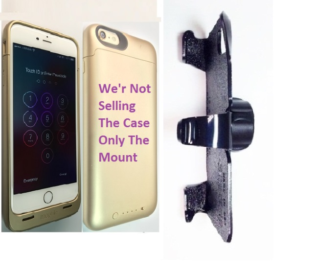 SlipGrip 22mm Ball Holder For Apple iPhone 6 Plus Using Mophie Juice Pack Case