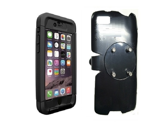 the best attitude d935f bdcfe SlipGrip RAM-HOL Holder For Apple iPhone 6S Plus Using Thule Atmos X5  WaterProof Case