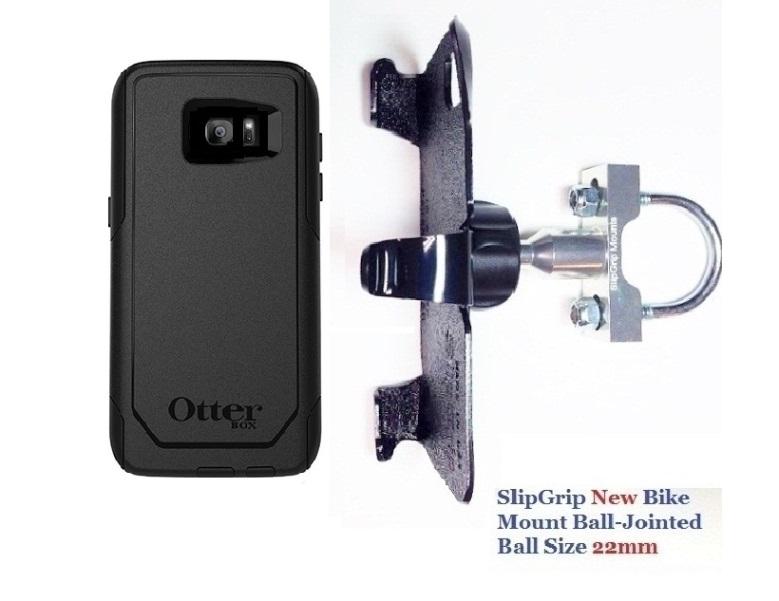 buy popular 9c599 70165 SlipGrip U-Bolt Bike Holder For Samsung Galaxy S7 Edge Using Otterbox  Defender Case