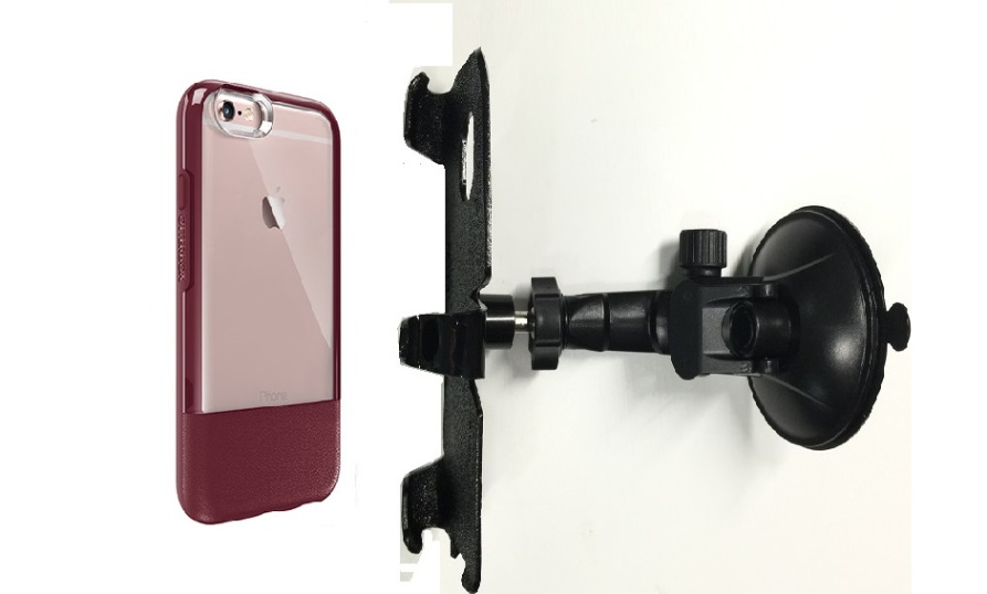 SlipGrip Car Holder For Apple iPhone 6 Plus Using Otterbox Statement Case LP