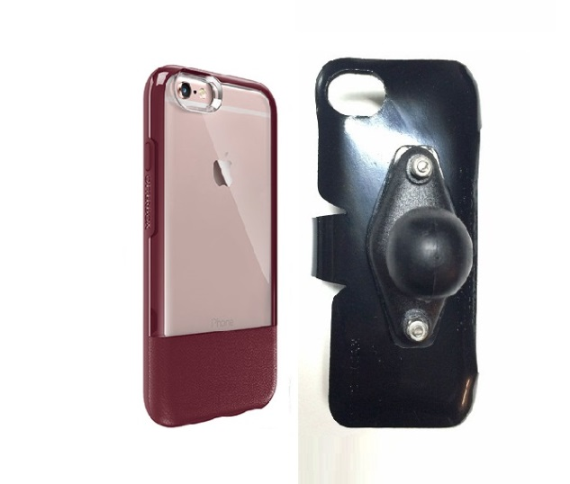 SlipGrip RAM Holder For Apple iPhone 6 Plus Using Otterbox Statement Case