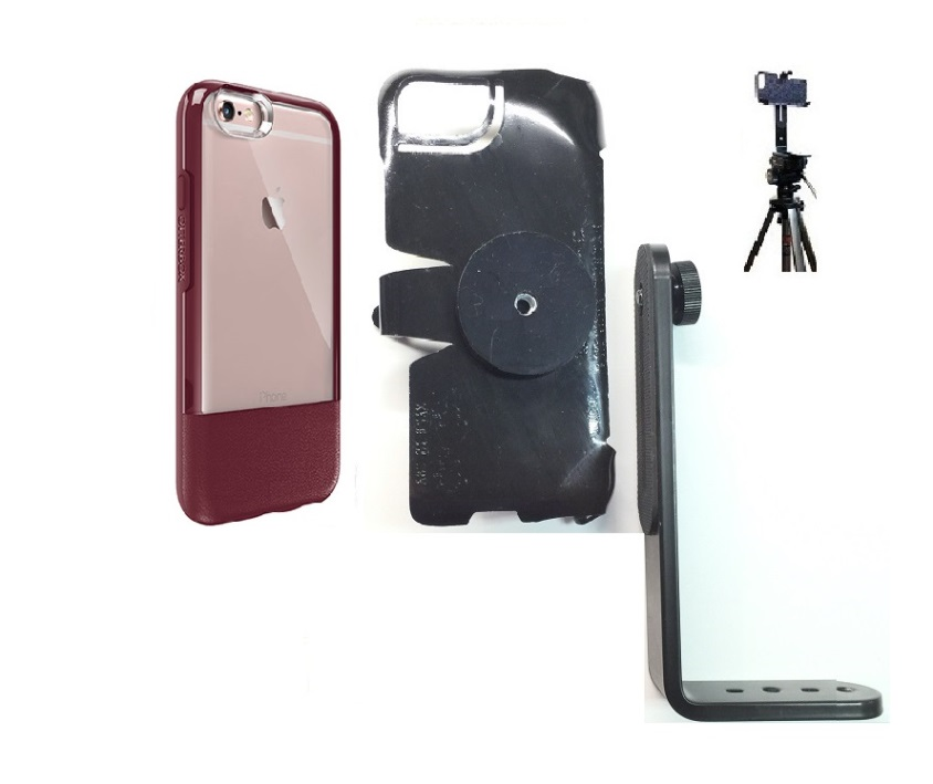 SlipGrip Tripod Mount For Apple iPhone 6 Plus Using Otterbox Statement Case