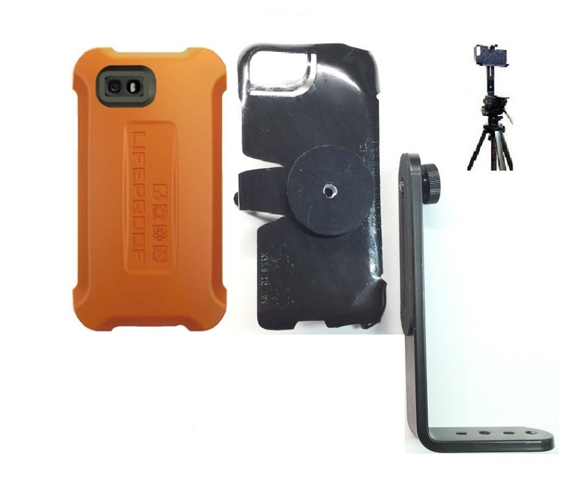 low cost 4964c 0a173 SlipGrip Tripod Mount For Apple iPhone 6S Using Lifeproof LifeJacket Float  Case