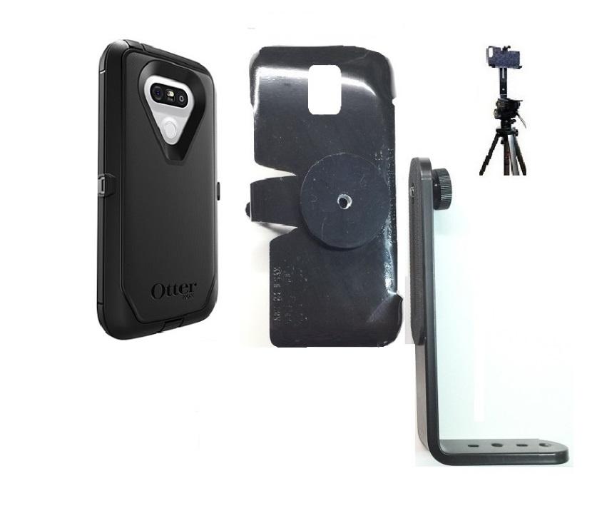 best service b7114 0cb72 SlipGrip Tripod Mount For LG G5 Phone Using Otterbox Defender Case