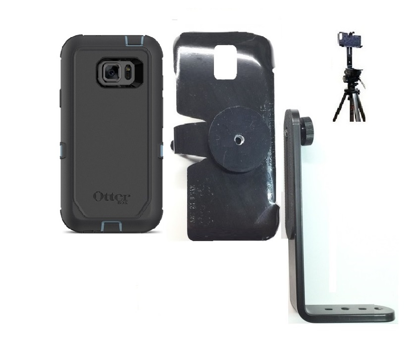 new concept dadc0 c06a8 SlipGrip Tripod Mount For Samsung Galaxy S7 Active Using Otterbox Defender  Case