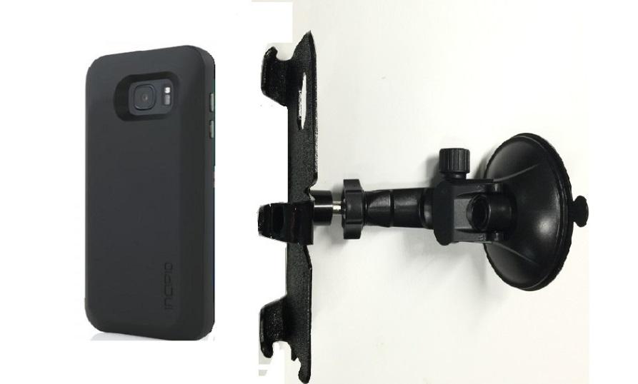 big sale 4ae15 9cdeb SlipGrip Car Holder For Samsung Galaxy S7 Edge Using Incipio OFFGRID  Battery Case LP