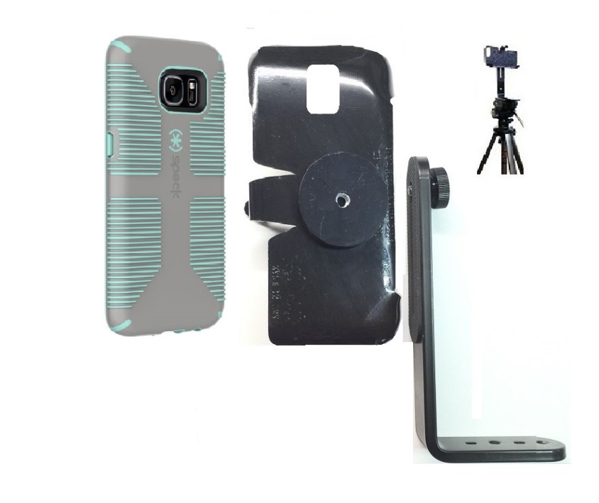huge discount a7a8a 04793 SlipGrip Tripod Mount For Samsung Galaxy S7 Edge Using Speck CandyShell  Grip Case