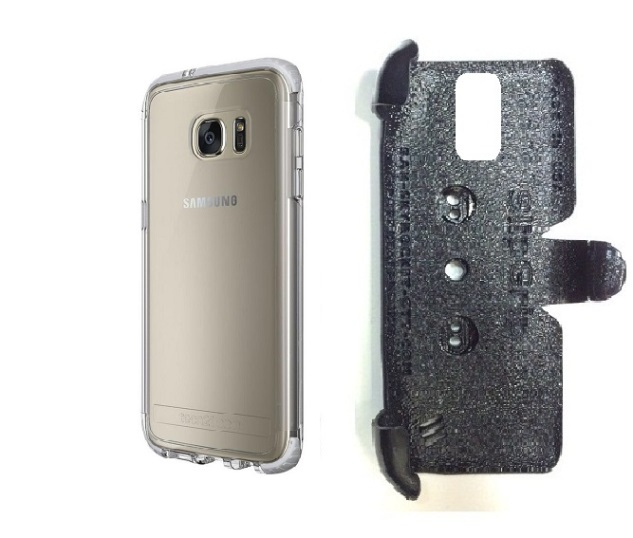 new products 93a6a ea33e SlipGrip PRO Mounts Holder For Samsung Galaxy S7 Edge Using Tech21 Evo  Frame Case