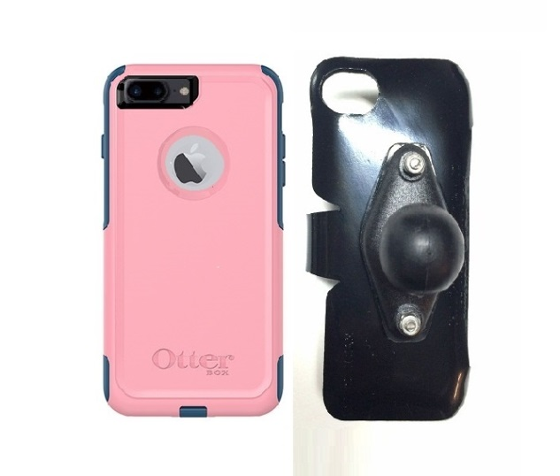 SlipGrip RAM Holder For Apple iPhone 7 Plus Using OtterBox Commuter Case