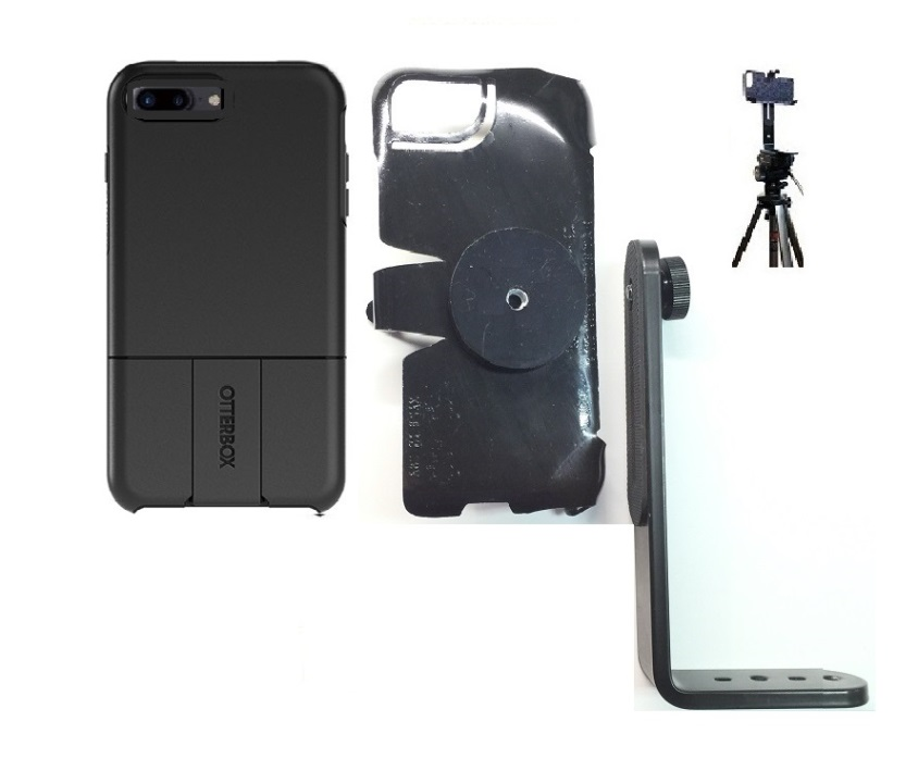 on sale 50354 3f28f SlipGrip Tripod Mount For Apple iPhone 7 Plus Using OtterBox uniVERSE Case