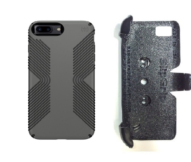 SlipGrip PRO Mounts Holder For Apple iPhone 8 Plus Using Speck Presidio Grip Case