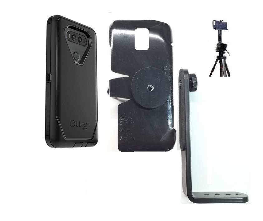 competitive price a26d2 5766d SlipGrip Tripod Mount For LG V20 Phone Using OtterBox Defender Case