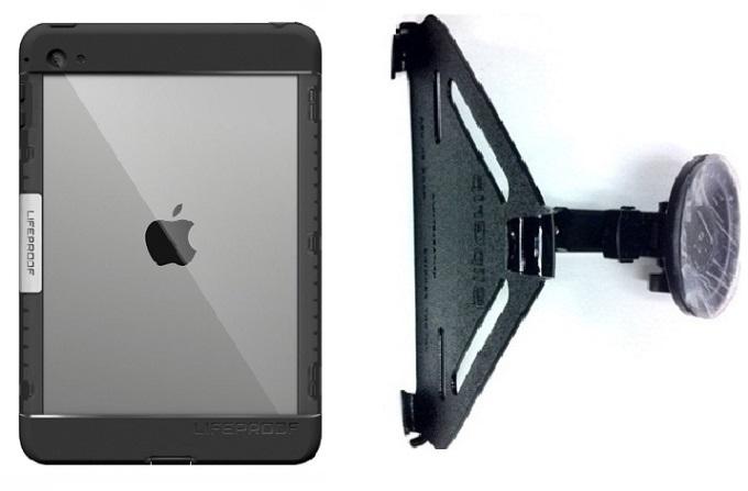 cheaper e2220 090ce SlipGrip CAR Holder For Apple iPad Mini 4 Tablet Using LifeProof Nuud Case