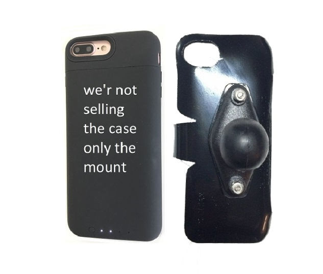 SlipGrip RAM Holder Designed To Work For iPhone 8 Plus Mophie Juice Pack Air Case