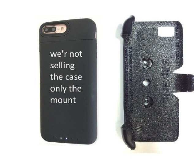 SlipGrip PRO Mounts Holder Designed To Work For iPhone 8 Plus Mophie Juice Pack Air Case