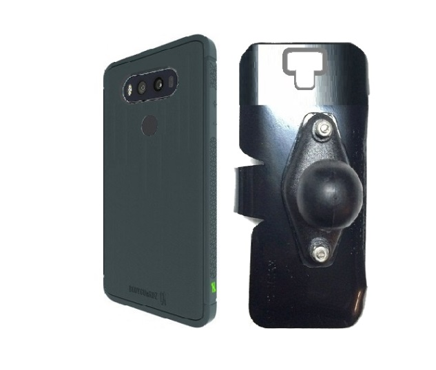 brand new 3cd7f c64a5 SlipGrip RAM Holder For LG V20 Phone Using BodyGuards UnEqual Shock Case