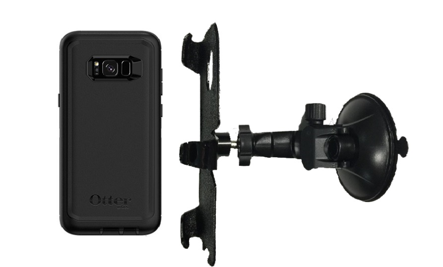 more photos e4963 0fc21 SlipGrip Car Holder For Samsung Galaxy S8 Plus Using Otterbox Defender Case  LP