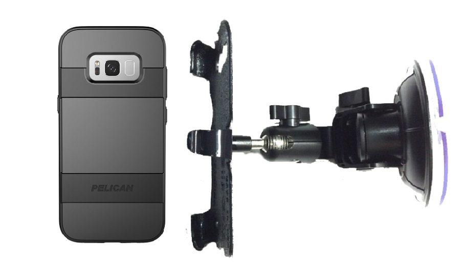 SlipGrip Car DT Holder Designed For Samsung Galaxy S8 Plus Pelican Voyager Case