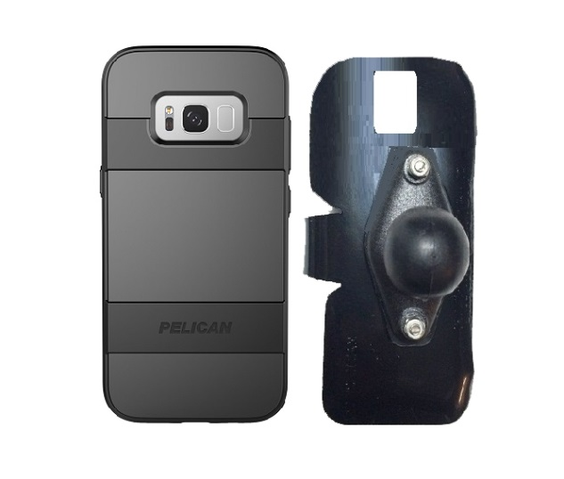 SlipGrip RAM Holder Designed For Samsung Galaxy S8 Plus Pelican Voyager Case