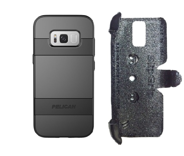 SlipGrip PRO Mounts Holder Designed For Samsung Galaxy S8 Plus Pelican Voyager Case