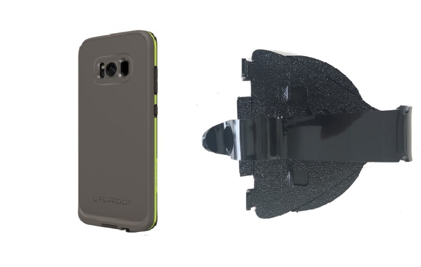 SlipGrip Car Dashboard Holder Designed For Samsung Galaxy S8 Plus LifeProof FRE Case