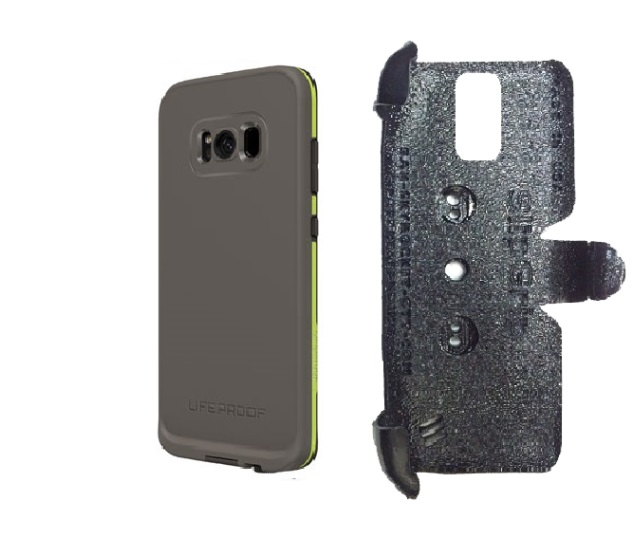 SlipGrip PRO Mounts Holder Designed For Samsung Galaxy S8 Plus LifeProof FRE Case