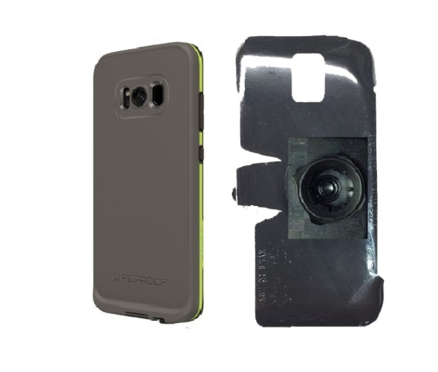 SlipGrip 22mm Ball Holder Designed For Samsung Galaxy S8 Plus LifeProof FRE Case