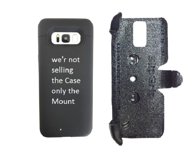 low priced c542c bd983 SlipGrip PRO Mounts Holder Designed For Samsung Galaxy S8 Plus Mophie Juice  Pack Case