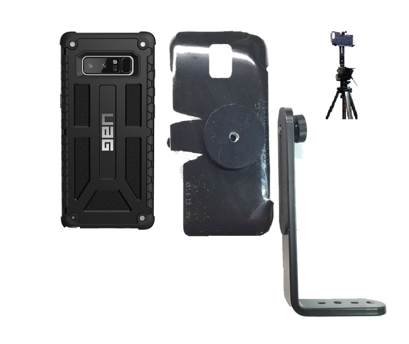 outlet store 23269 e23a2 SlipGrip Tripod Mount Designed For Samsung Galaxy Note 8 UAG Monarch Case