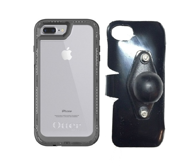 new arrival dd1bc b6d11 SlipGrip RAM Holder For Apple iPhone 8 Plus Using Otterbox Pursuit Case