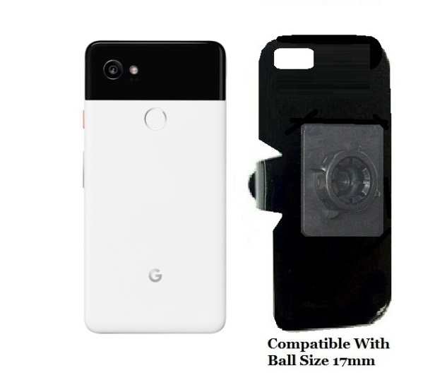 SlipGrip 17MM Holder For Google Pixel 2 XL Phone Naked Using No Case On