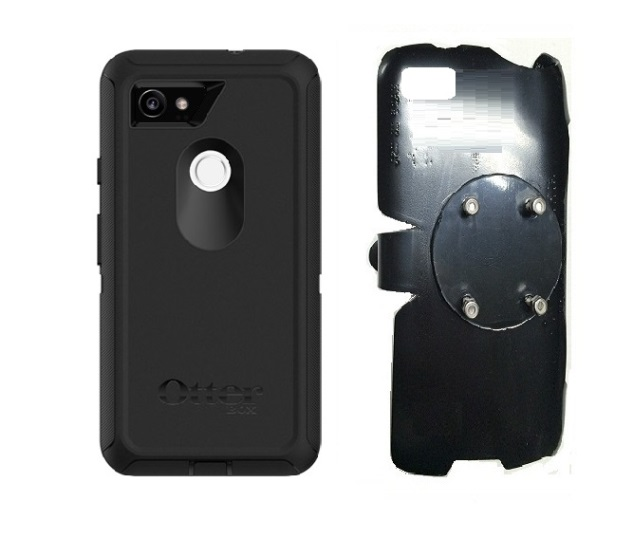 SlipGrip RAM-HOL Holder For Google Pixel 2 XL Phone Using Otterbox Defender Screenless Case