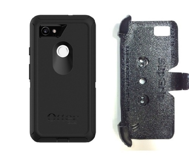 SlipGrip PRO Mounts Holder For Google Pixel 2 XL Phone Using Otterbox Defender Screenless Case